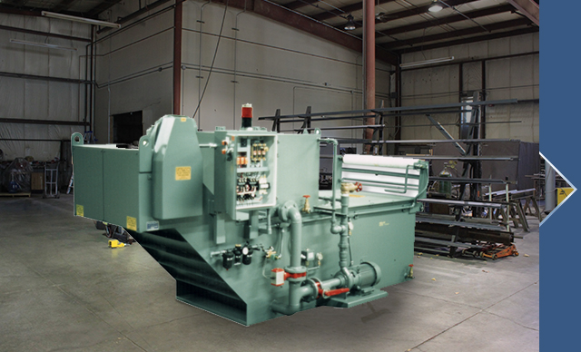 Machine Tool Coolant Systems : Magnetic separators gravity filters polytech filtration